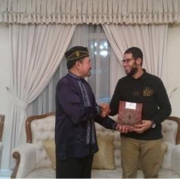 Adel Eljohani with Indonesian Abassador